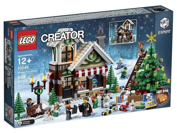 LEGO 10249 Winter speelgoedwinkel