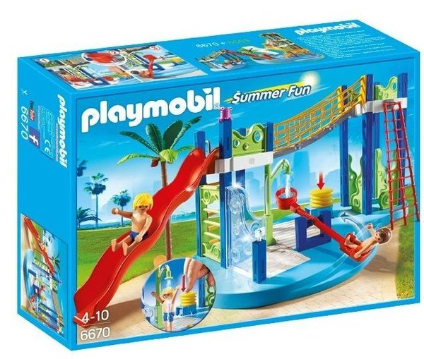 Playmobil 6670 Waterspeeltuin Summer Fun