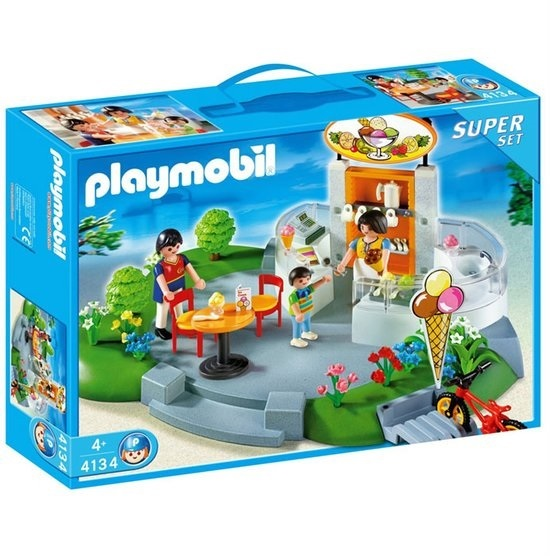 Playmobil 4134 Ijssalon City Life Superset